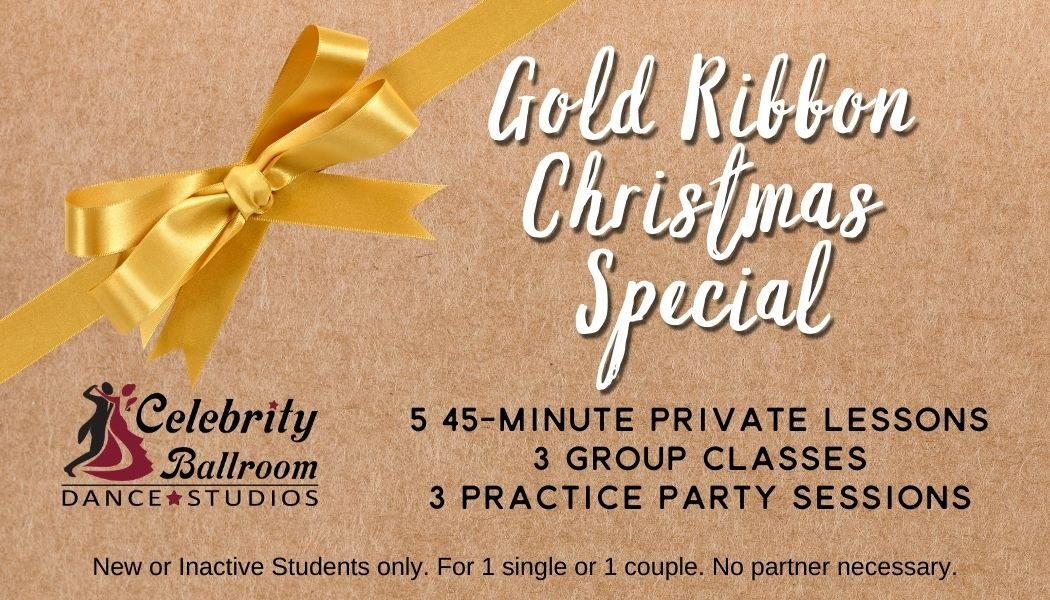 Christmas Special- Gold Ribbon