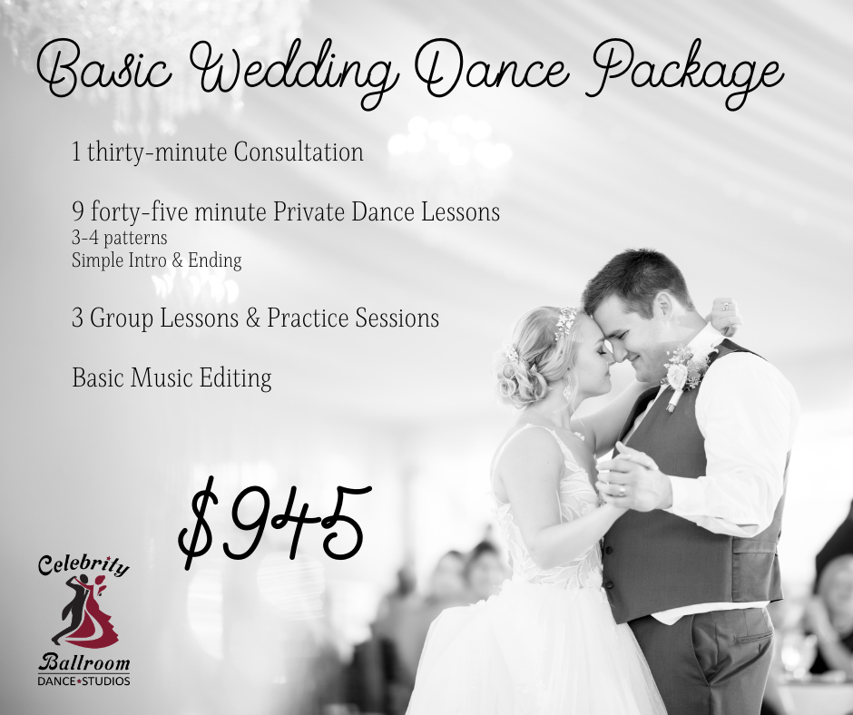 Basic Wedding Dance Package